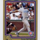 2004 Topps Baseball Gold #018 Corey Patterson - Chicago Cubs /2004