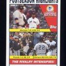 2004 Topps Baseball #354 Pedro Martinez / Jorge Posada / Roger Clemens