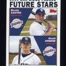 2004 Topps Baseball #327 Bernie Castro / Khalil Greene - San Diego Padres