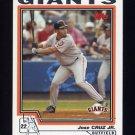 2004 Topps Baseball #249 Jose Cruz Jr. - San Francisco Giants