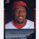 2005 Bowman Chrome Baseball #120 Vladimir Guerrero - Anaheim Angels