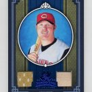 2005 Diamond Kings Materials Framed Blue #337 Adam Dunn - Reds Game-Used Jersey, Bat /100