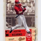 2005 Fleer Authentix General Admission #032 Austin Kearns - Cincinnati Reds /100