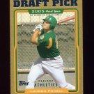 2005 Topps Gold Baseball #676 Landon Powell - Oakland Athletics /2005