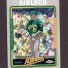 2005 Topps Chrome Refractors #193 Mark Mulder - Oakland Athletics