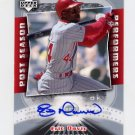 2005 Upper Deck Classics Post Season Performers Signatures #ED Eric Davis - Reds AUTO