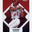 2006 Finest Baseball #001 Vladimir Guerrero - Los Angeles Angels