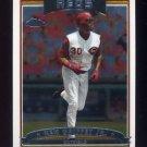2006 Topps Chrome Baseball #221 Ken Griffey Jr. - Cincinnati Reds