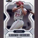 2007 Finest Baseball #045 Vladimir Guerrero - Los Angeles Angels