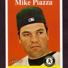 2007 Topps Heritage Baseball #192 Mike Piazza - Oakland Athletics