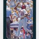 2007 UD Masterpieces Green Linen #032 Vladimir Guerrero - Los Angeles Angels