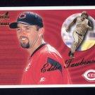 2000 Aurora Baseball #039 Eddie Taubensee - Cincinnati Reds