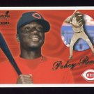 2000 Aurora Baseball #038 Pokey Reese - Cincinnati Reds