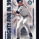 2000 Impact Mighty Fine In 99 #MF-39 Alex Rodriguez - Seattle Mariners