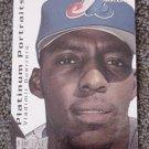 2000 Metal Platinum Portraits #PP2 Vladimir Guerrero - Montreal Expos