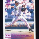 2000 Pacific Crown Collection Holographic Purple #275 Roberto Hernandez - Tampa Bay Devil Rays /199