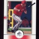 2000 SP Authentic Baseball #085 Sean Casey - Cincinnati Reds