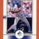2000 SP Authentic Baseball #063 Vladimir Guerrero - Montreal Expos