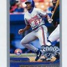 2000 Topps Opening Day #086 Vladimir Guerrero - Montreal Expos