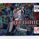 2000 UD Ionix Atomic #A06 Derek Jeter - New York Yankees