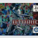 2000 UD Ionix Atomic #A03 Ken Griffey Jr. - Seattle Mariners
