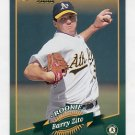 2001 Donruss 2000 Retro #097 Barry Zito - Oakland Athletics /2000