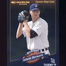 2001 Donruss 2000 Retro Stat Line Career #098 Adam Bernero - Detroit Tigers /254