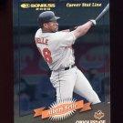 2001 Donruss 2000 Retro Stat Line Career #012 Albert Belle - Baltimore Orioles /352