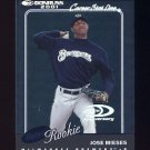 2001 Donruss Stat Line Career #175 Jose Mieses - Milwaukee Brewers /265