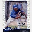 2001 Donruss Baseball #191 Wilken Ruan RC - Montreal Expos /2001