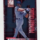 2001 Donruss Elite Primary Colors Red #PC15 Mike Piazza - Mets /975