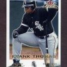 2001 Fleer Focus Baseball #053 Frank Thomas - Chicago White Sox