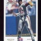 2001 Fleer Focus Baseball #020 Vladimir Guerrero - Montreal Expos