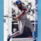 2001 Fleer Genuine Baseball #041 Vladimir Guerrero - Montreal Expos