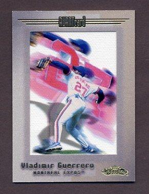 2001 Fleer Showcase Baseball #111 Vladimir Guerrero - Montreal Expos