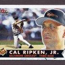 2001 Fleer Tradition Baseball #340 Cal Ripken