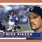 2001 Fleer Tradition Baseball #152 Mike Piazza