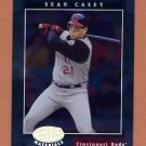 2001 Leaf Certified Materials Baseball #059 Sean Casey