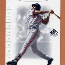 2001 SP Authentic Baseball #064 Vladimir Guerrero - Montreal Expos