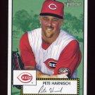 2001 Topps Heritage Baseball #156 Pete Harnisch - Cincinnati Reds