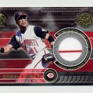 2001 Private Stock Game Gear #048 Barry Larkin Game-Used Jersey