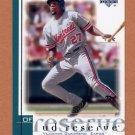 2001 UD Reserve Baseball #127 Vladimir Guerrero - Montreal Expos