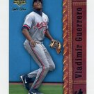 2001 Upper Deck Gold Glove Baseball #066 Vladimir Guerrero - Montreal Expos