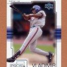 2001 Upper Deck Pros And Prospects Baseball #065 Vladimir Guerrero
