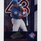 2002 Absolute Memorabilia Baseball #149 Raul Mondesi - Toronto Blue Jays