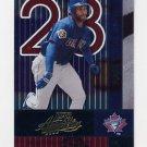 2002 Absolute Memorabilia Baseball #147 Jose Cruz Jr. - Toronto Blue Jays
