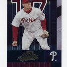 2002 Absolute Memorabilia Baseball #112 Scott Rolen - Philadelphia Phillies