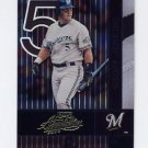 2002 Absolute Memorabilia Baseball #084 Geoff Jenkins - Milwaukee Brewers