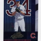 2002 Absolute Memorabilia Baseball #028 Kerry Wood - Chicago Cubs