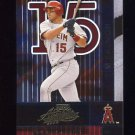 2002 Absolute Memorabilia Baseball #005 Tim Salmon - Anaheim Angels